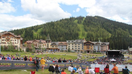 Burton Cummings Free Concert at Sun Peaks Resort in 2013