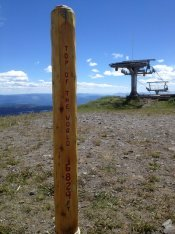 Top of the World at Sun Peaks