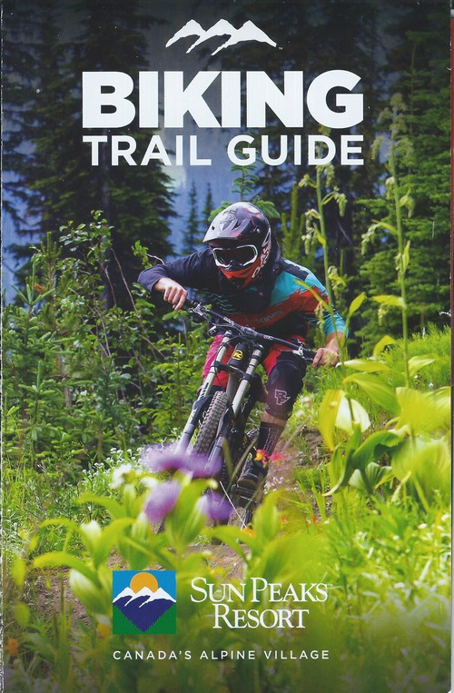 Sun Peaks Trail Guide - cross country and Sun Peaks bike park map of trails - pick one up for free at Sun Peaks