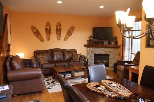 Trappers Landing Sun Peaks Living Room