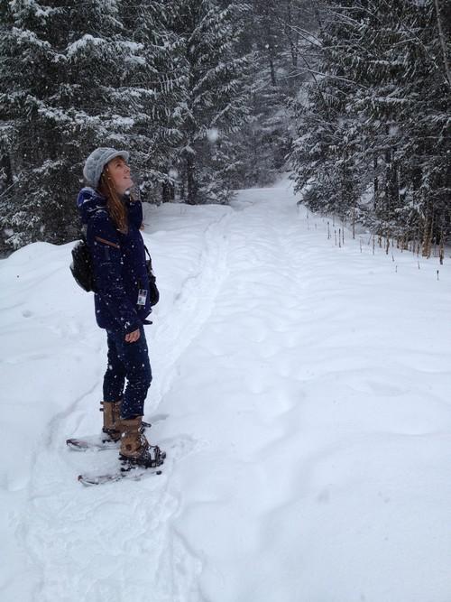 snowshoeing tours at Sun Peaks