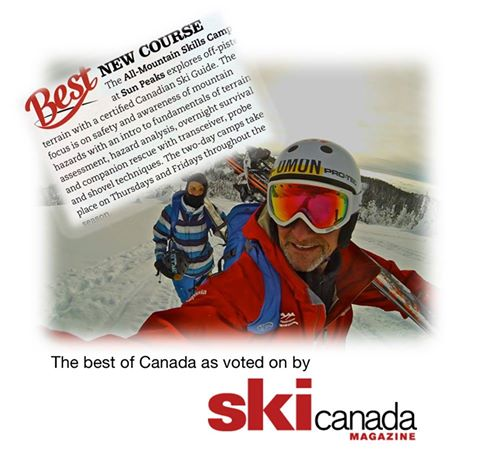 Best New Course - All Mountain Skills Camp for off-piste training