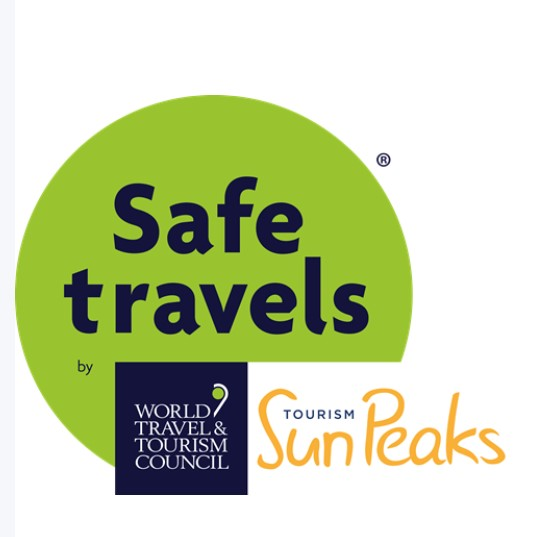 Sun Peaks has earned the Safe Travels Stamp for their operational safety and hygiene practices