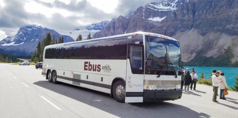 EBus Replaces Greyhound on Vancouver to Kamloops run