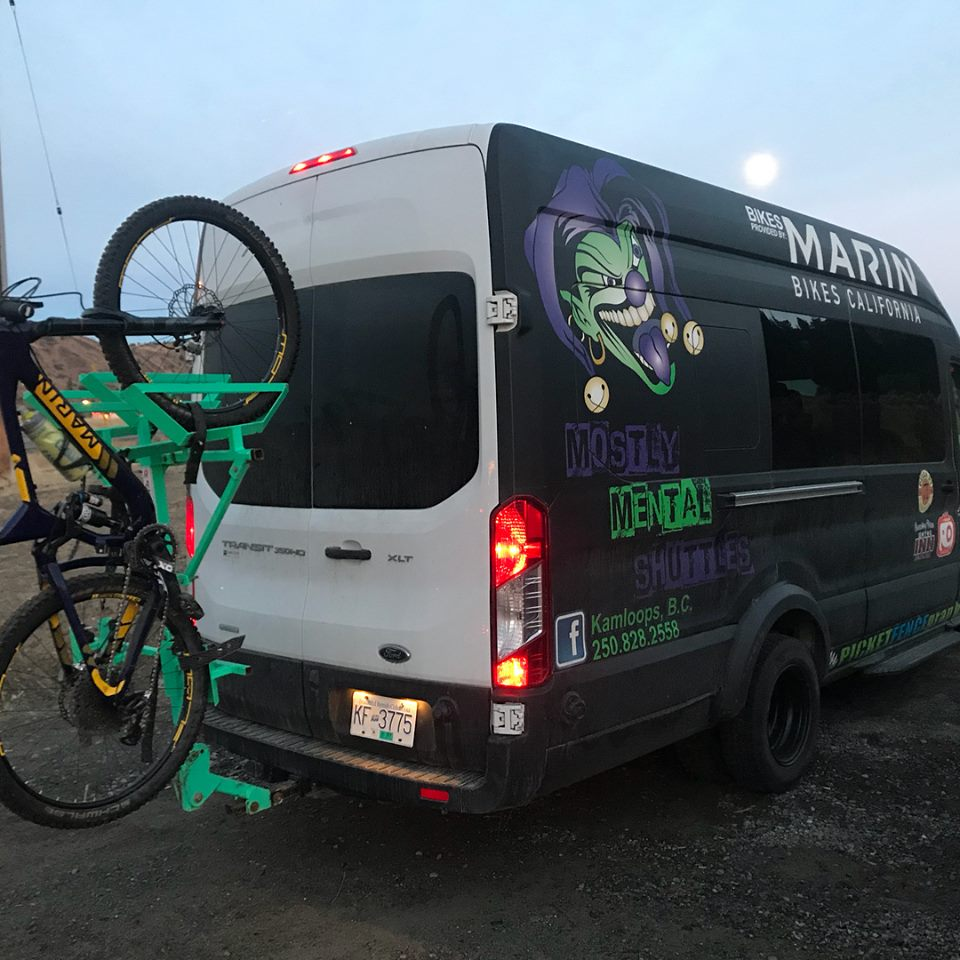 Mostly Mental Sun Peaks Shuttle Bus