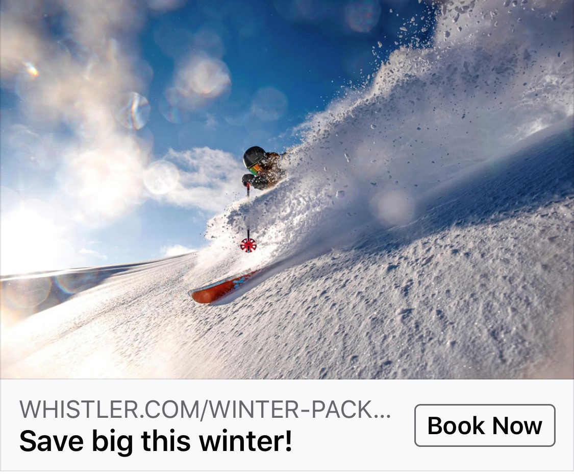Whistler 2019/20 Stay & Ski Package Special Offers