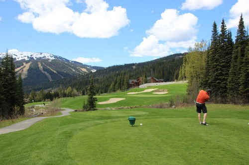 Spectacular views and greens at Sun Peaks Resort Golf Courses