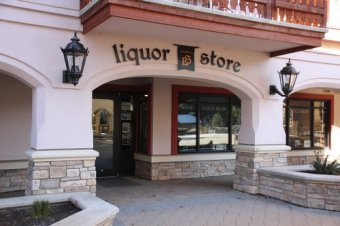 Liquor Store at Sun Peaks Resort