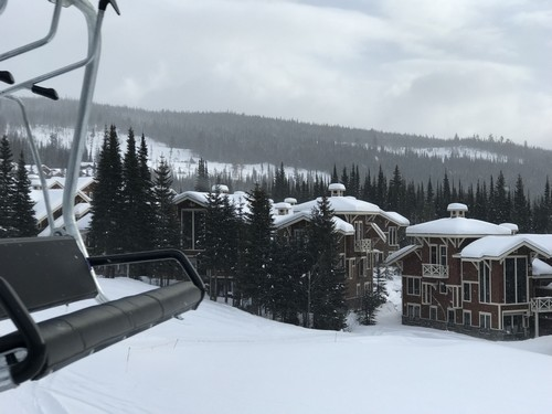 View of Stone's Throw from the new Orient chairlift