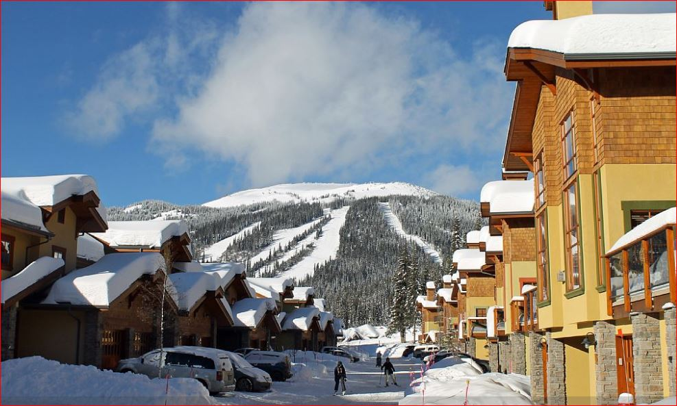 Sun Peaks townhouse vacation rental