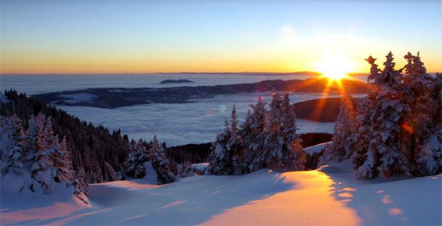 Sun Peaks Sunrise - photo Adam Stein