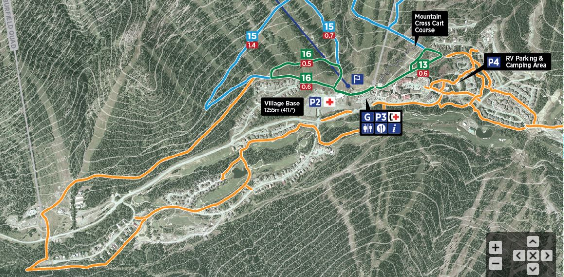 Sun Peaks Valley Trail