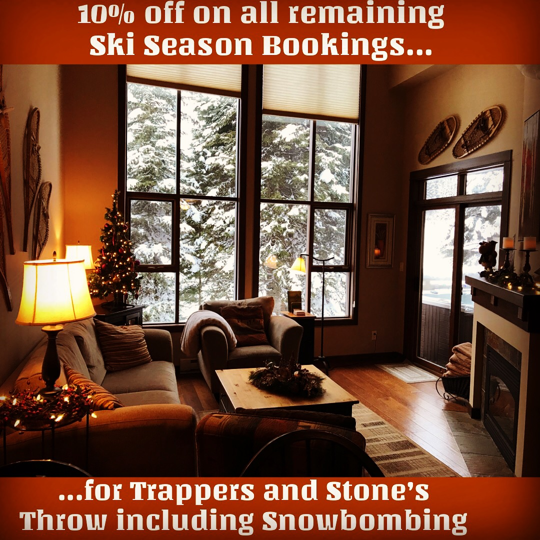 Sun Peaks vacation Rentals Special Offer