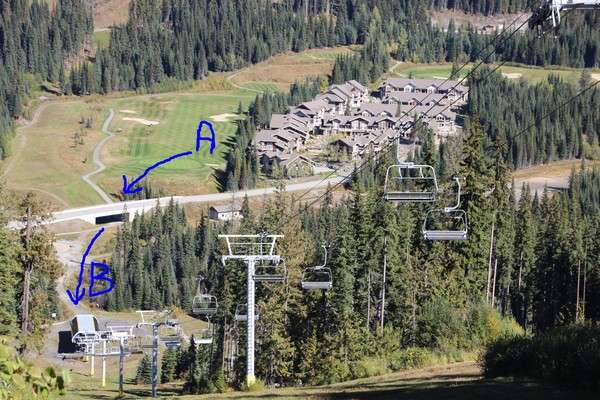 Best ski in ski out Sun Peaks condo
