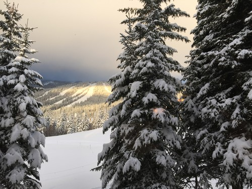 View From Sun Peaks Stones Throw Condo
