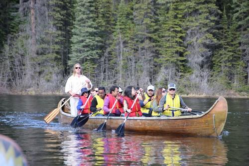 Review - Sun Peaks Voyageur Canoe Tour