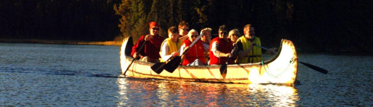 Voyageur Canoe Adventure Tours at Sun Peaks Resort