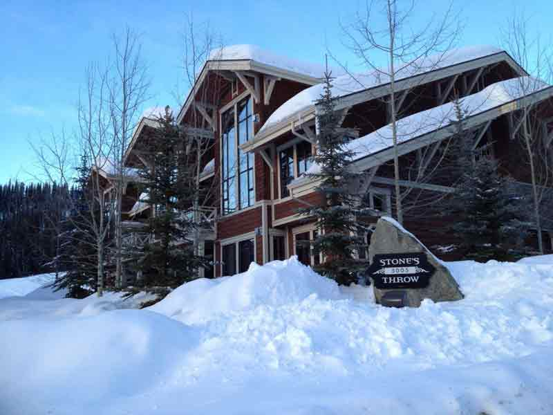 Best Stone's Throw Condo at Sun Peaks