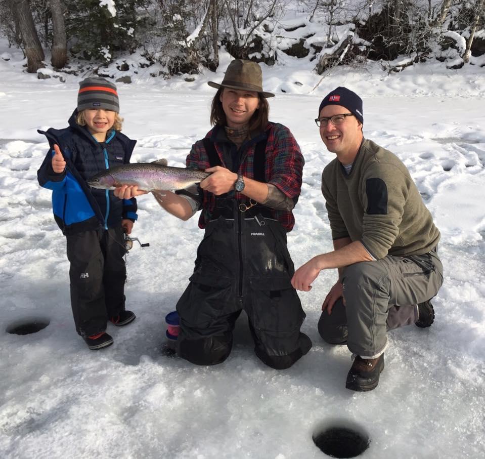 Sun Peaks Ice Fishing Guided Adventure Tours At Sun Peaks ...