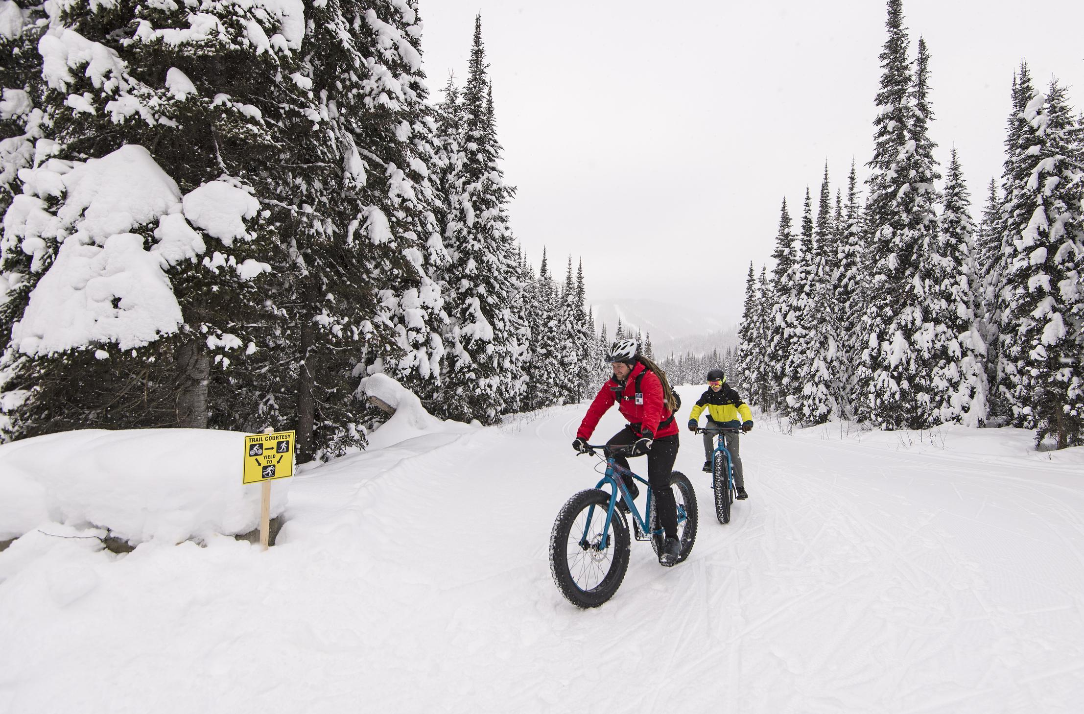 Sun Peaks Fat Bikes - fat tire biking