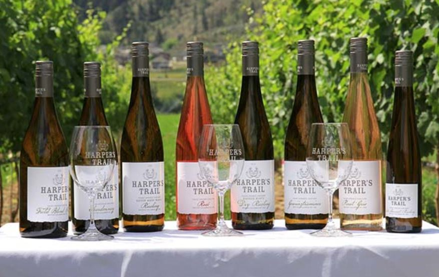 Many varieties to sample at Harpers Trail Winery