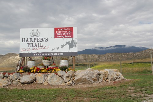 Harpers Trail Winery near Kamloops - part of a Best Sun Peaks wine tour