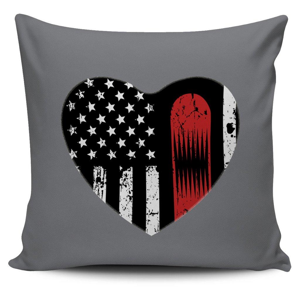 American Ski Heart Case