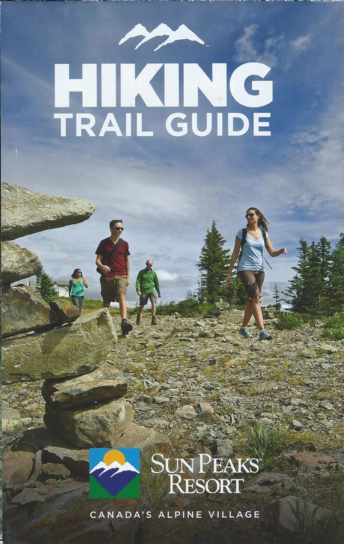 Sun Peaks hiking trails map - image courtesy Sun Peaks Resort