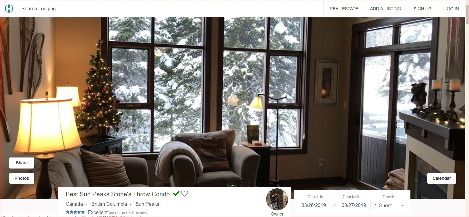 Houfy Sun Peaks Vacation Rentals, and thousands of other properties worldwide