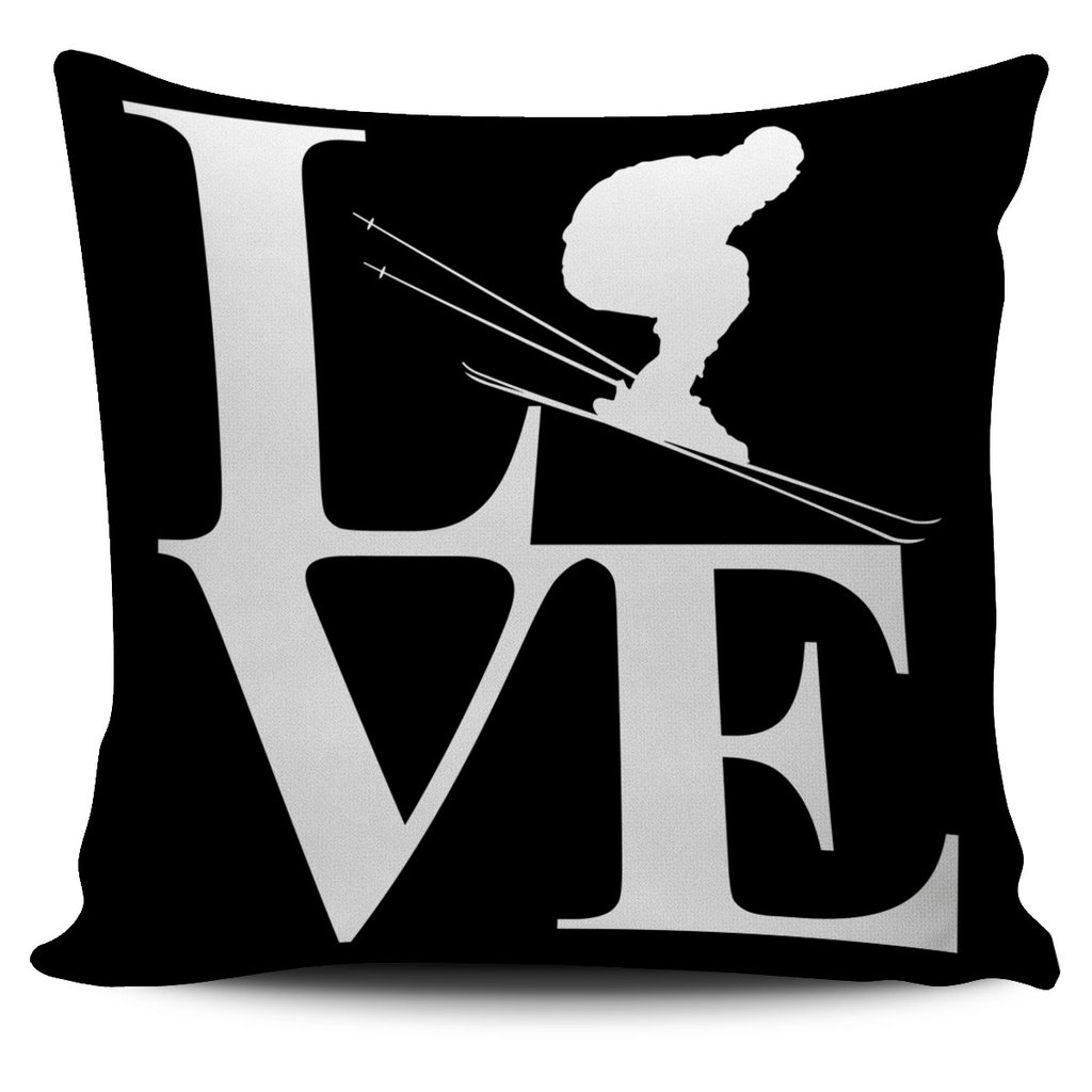 Love Ski Pillow and many more styles available