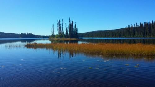 McGillivray Lake near Sun Peaks