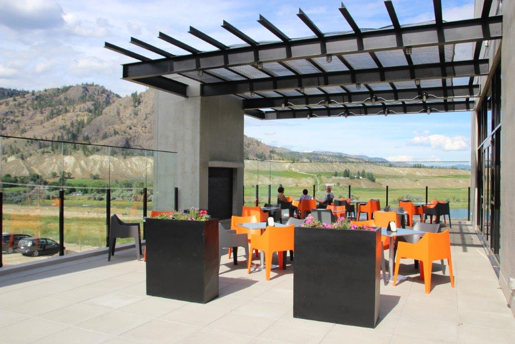 Monte Creek Ranch Winery Patio