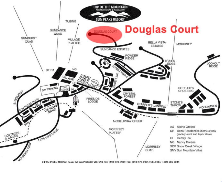 Moosehead Lodge Sun Peaks Douglas Court