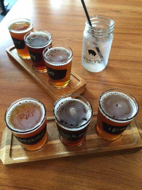 Noble pig brewery tours from Sun Peaks