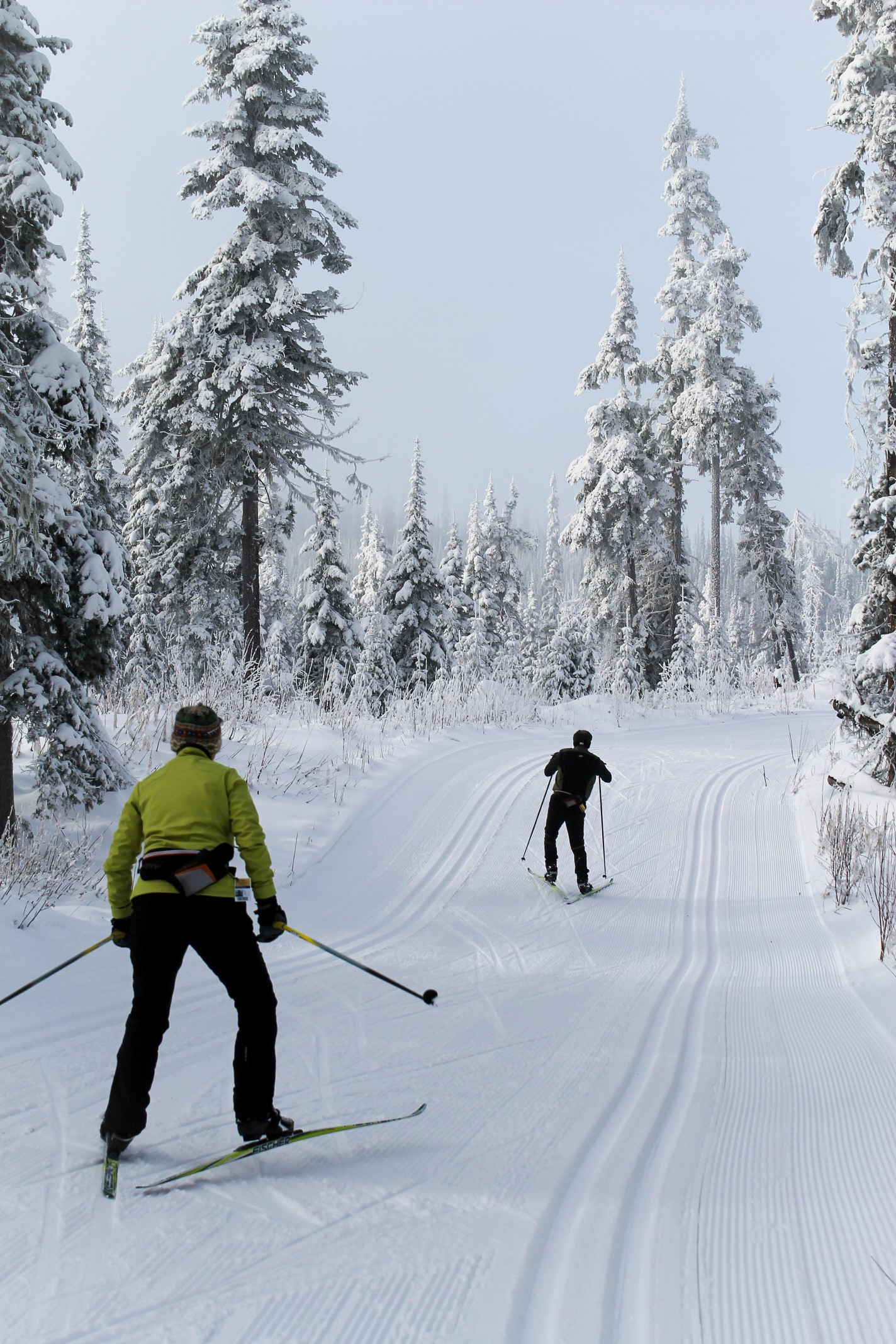 Sun Peaks nordic skiing - photo by Mary Putnam