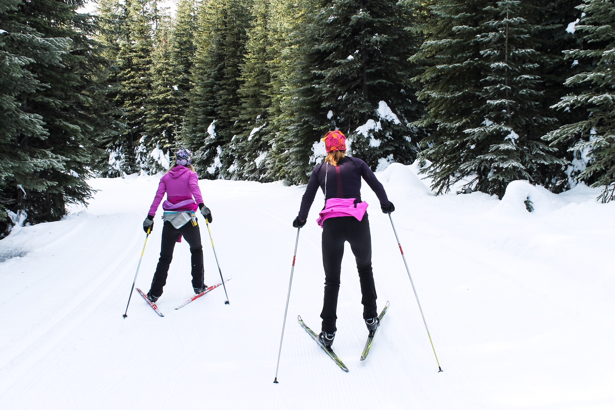 Sun Peaks Nordic Skiing - fun for all (photo by May Putnam)