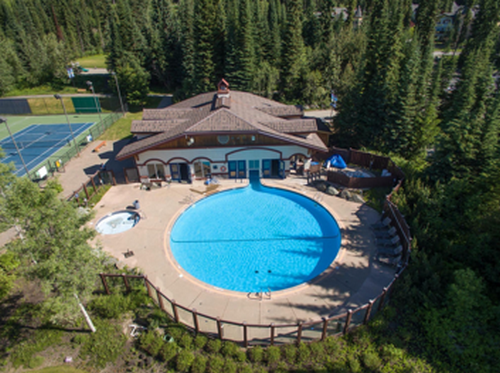 Enjoy the Sun Peaks Pool in the summer