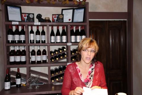 Tasting room at Sagewood Winery