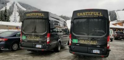 Sun Peaks / Tastefull Excursions Shuttle buses