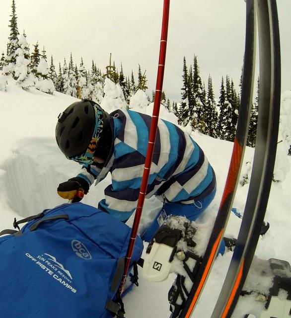 Avalanche skills trainng