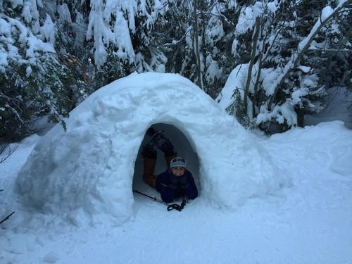Sun Peaks Snow Cave