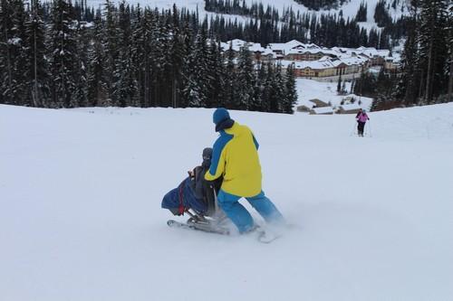 Snow Limo to Sun Peaks Resort