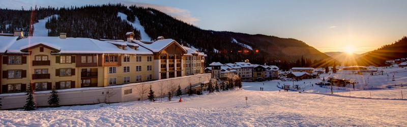 View of Best Sun Peaks Hotel - courtesy Sun Peaks Grand Hotel and Conference Centre