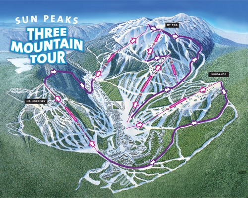 Three Mountain Tour at Sun Peaks Resort