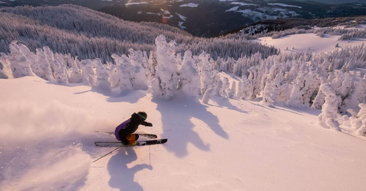 Sun Peaks helicopter or cat ski tour warm-up