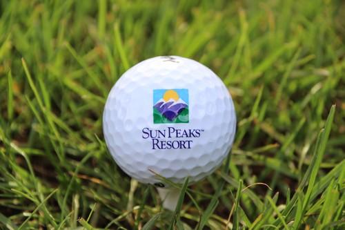 Sun Peaks Resort Golf Course ball