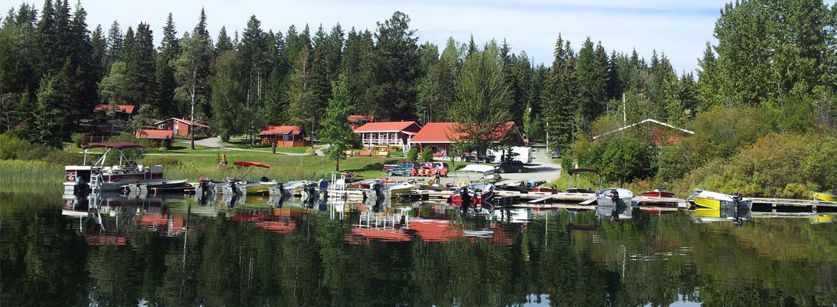 Knouff Lake Camping near Sun Peaks Resort