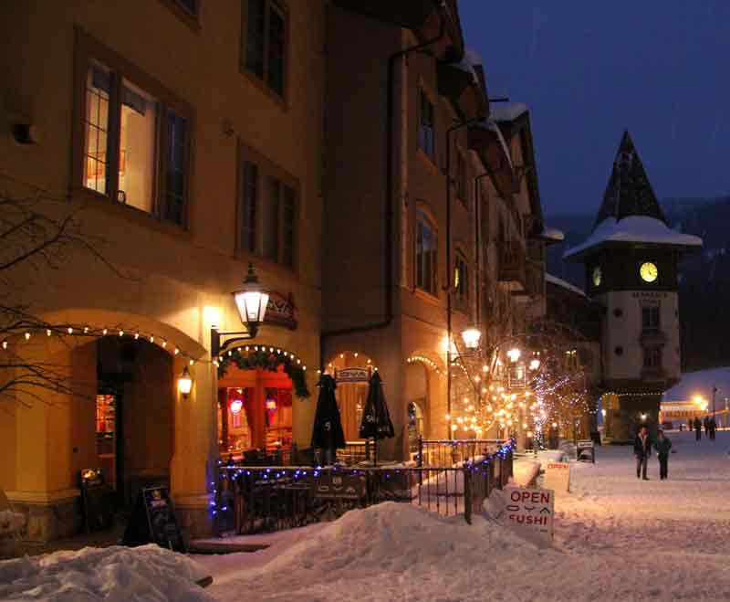 Best restaurants at Sun Peaks with many to choose from