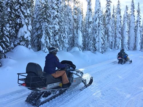 Sun Peaks Snowmobile Tour