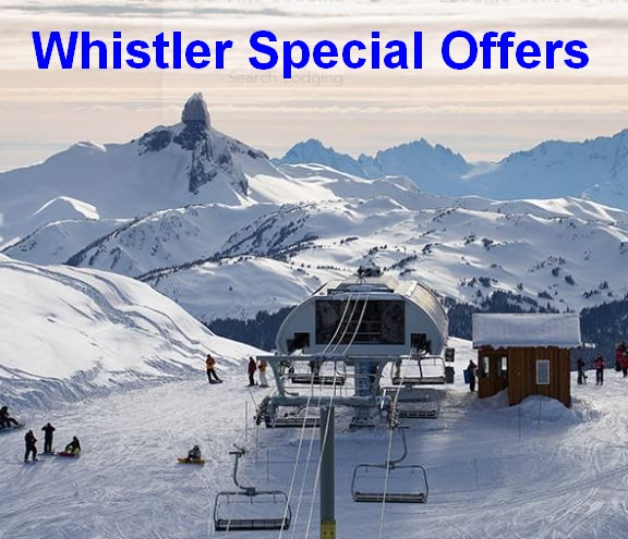Whistler and Sun Peaks - 1st and 2nd Best in Canada.  Special Offers